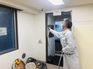 キッズスペースの抗ウイルス・抗菌対策(壁)