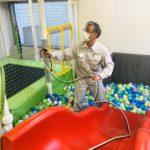 キッズスペースの抗ウイルス・抗菌対策(ボールプール)